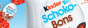 Kinder schoko-bons - bomboane de ciocolată de la Kinder