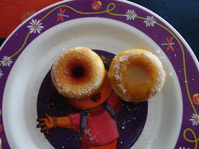 Sauce Filled Gluten Free Doughnuts