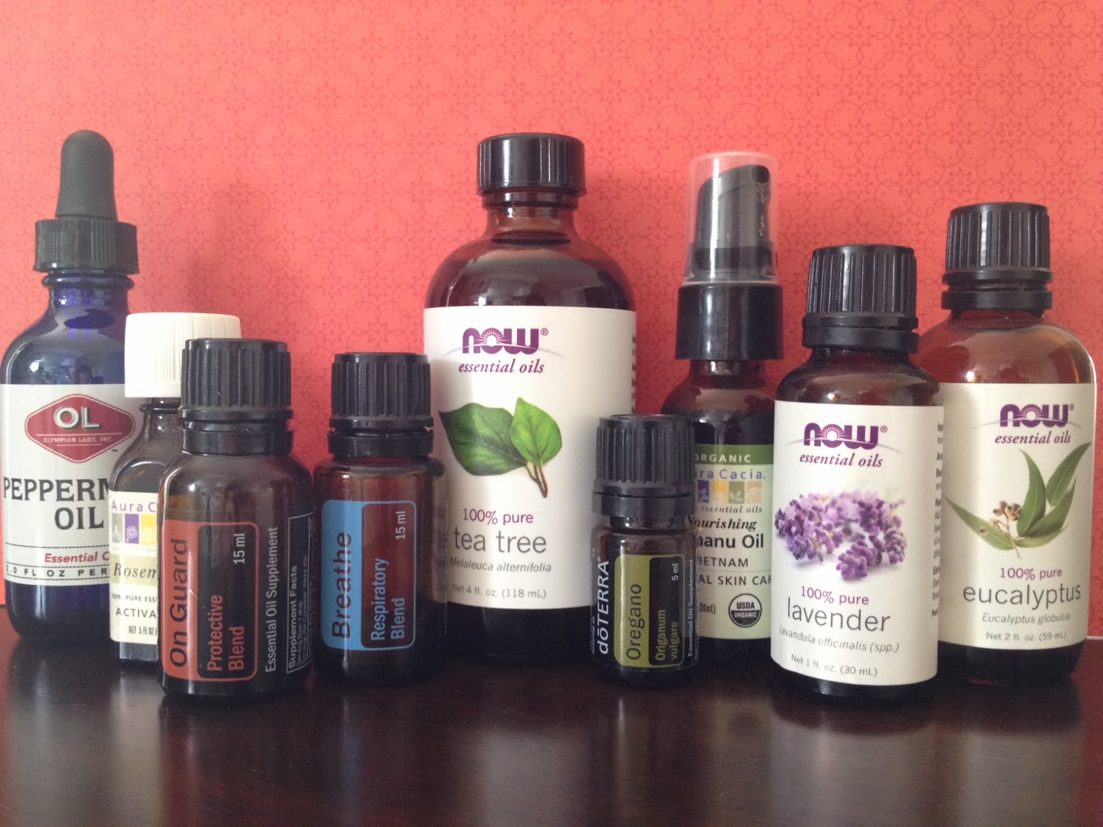 Here are the get well/stay well oils I use all the time and a bit of  #BA1B11