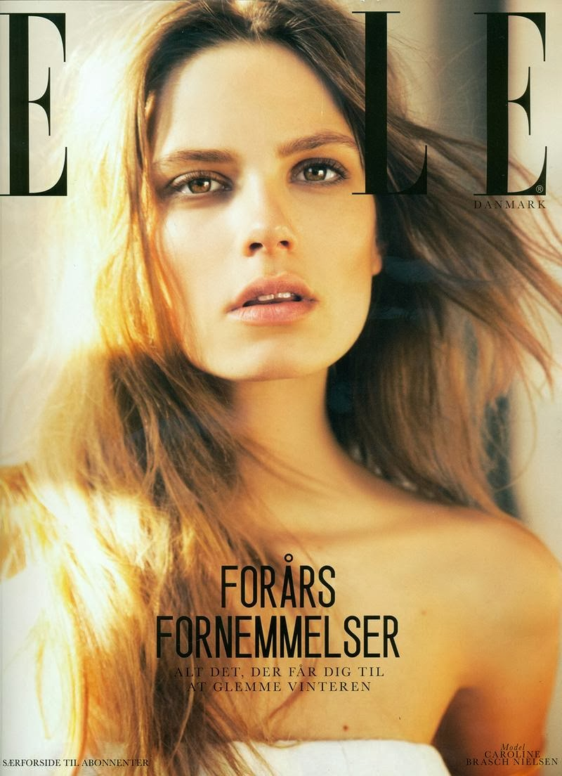 Magazine Photoshoot : Caroline Brasch Nielsen Photoshot For Elle Magazine Denmark February 2014 Issue