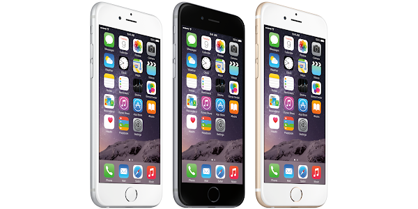 Apple iPhone 6 Plus colors