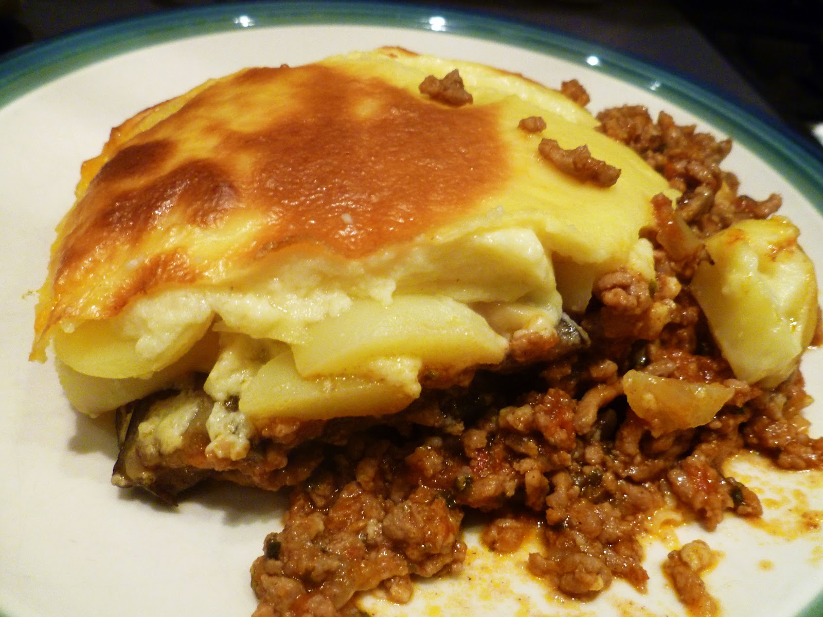 Homemade Moussaka | Confused Julia