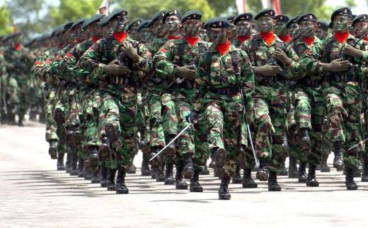 Kekuatan militer indonesia yang ditakuti negara lain