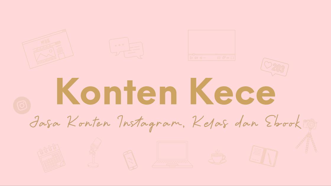 Penyedia Jasa Konten Instagram, Kelas dan Ebook