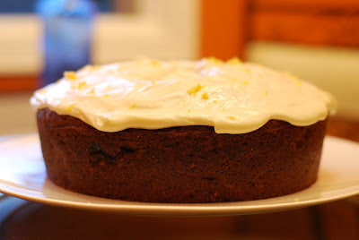 Banana Cake With Cream Cheese Icing