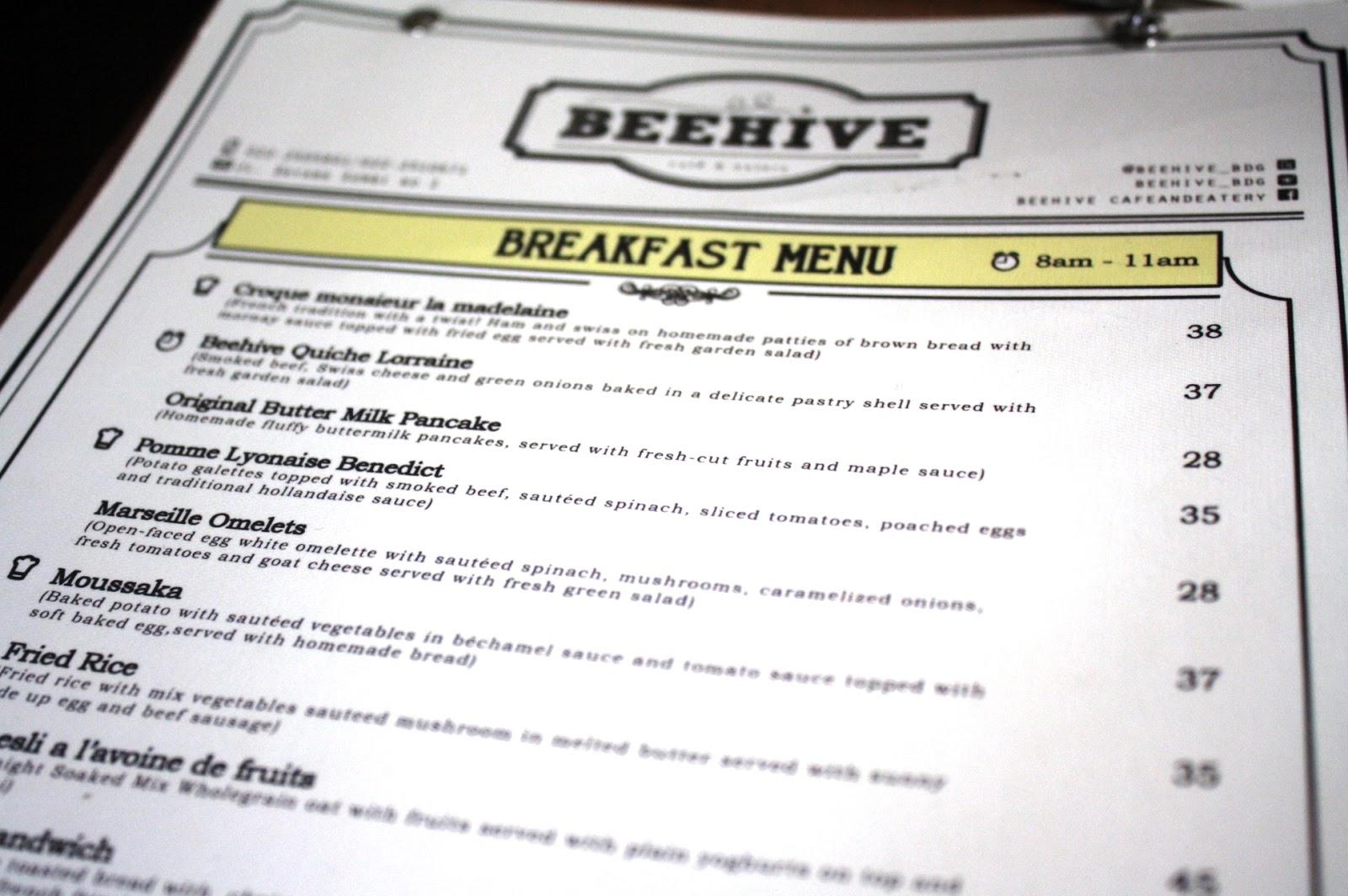 Adeknakemal jalan2 makan2 d kuliner beehive cafe for Z kitchen jogja menu