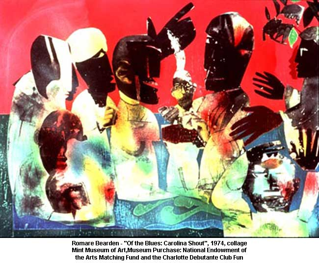 Amazoncom The Blues 1974 by Romare Bearden 14 x 11