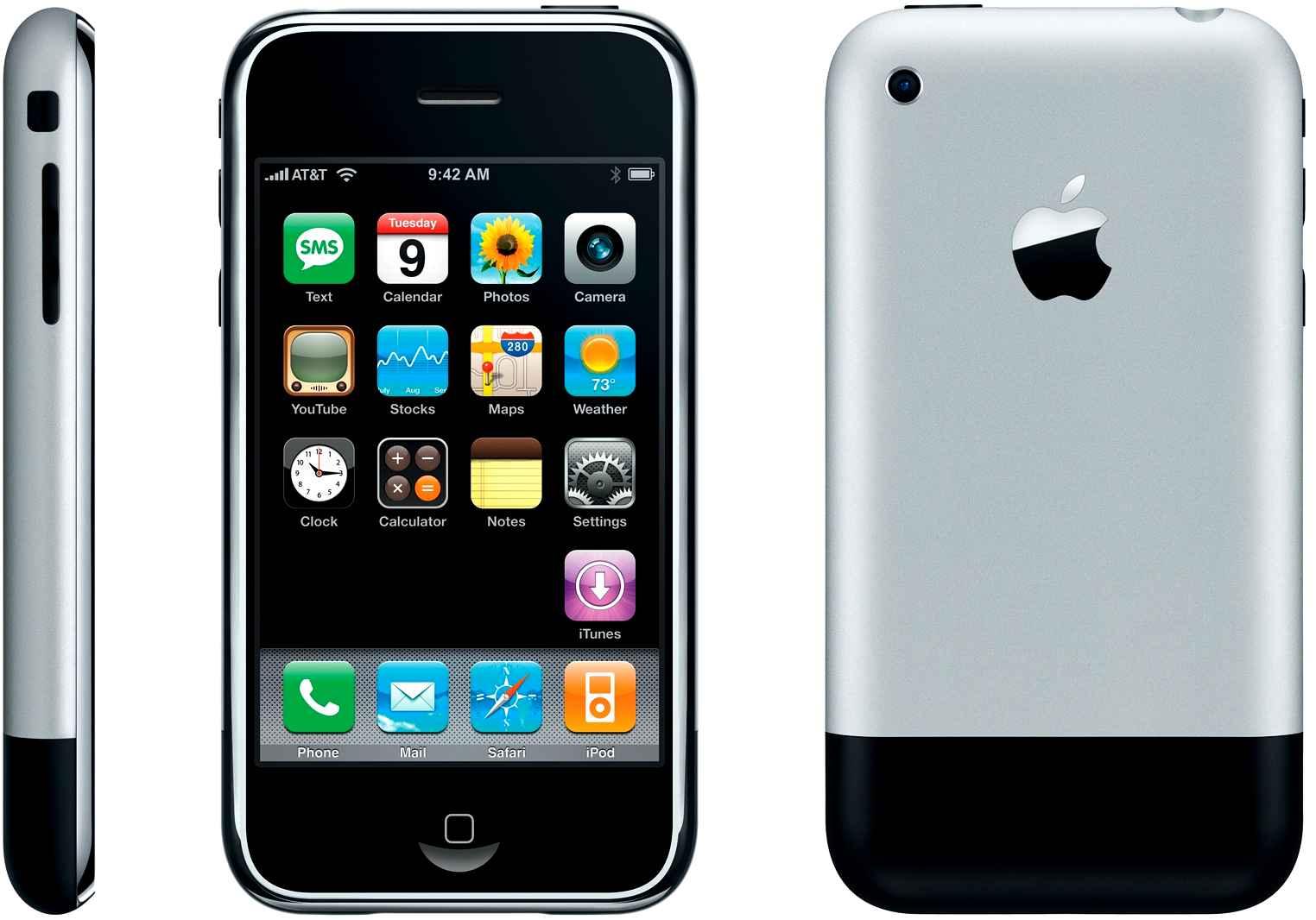 Le premier iPhone