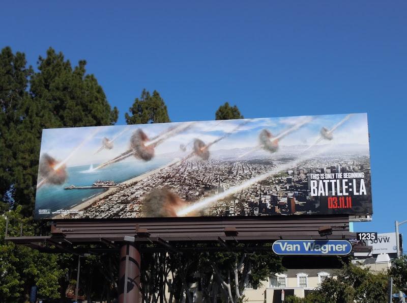 Battle LA movie billboard