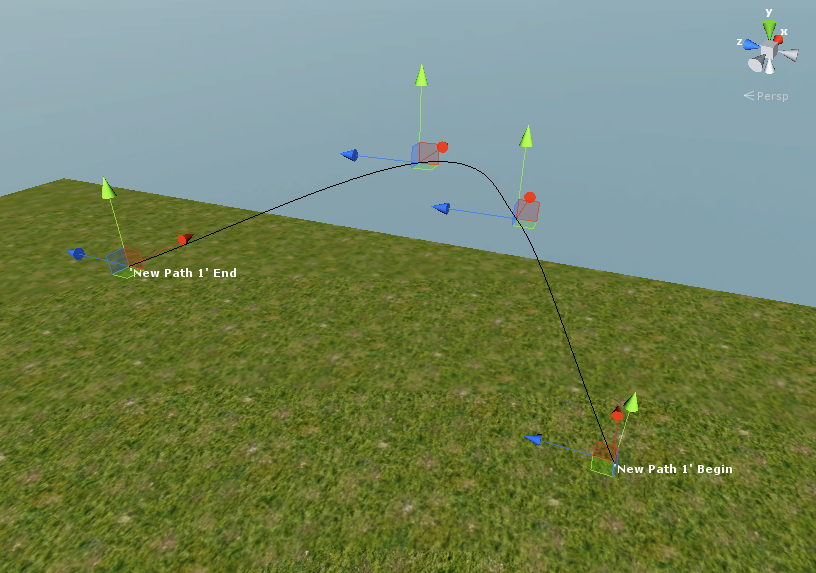 iTween visual editor path