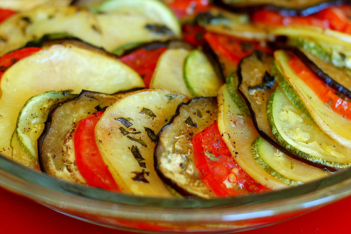 Provencal vegetable tian. Image by Eve Fox, The Garden of Eating, copyright 2013