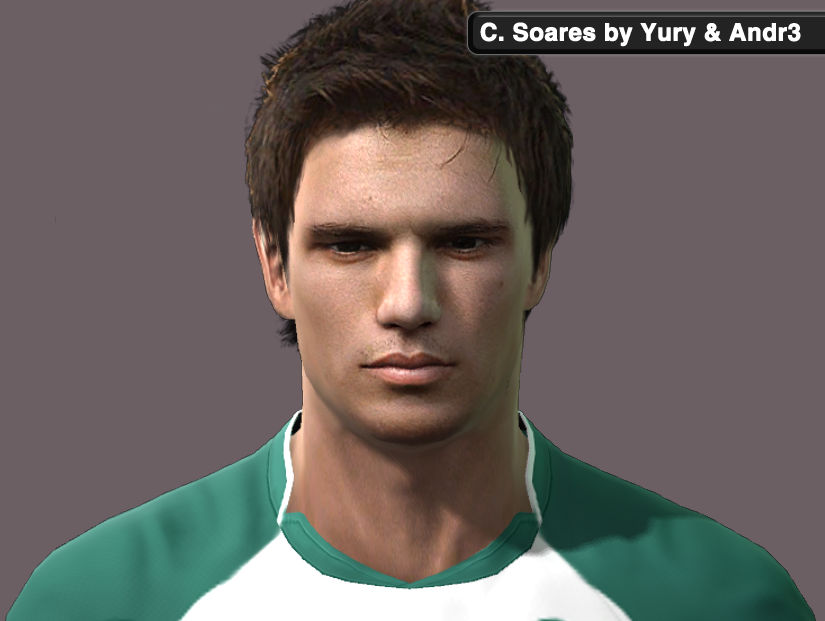 Cedric Soares Face by Yury & Andr3