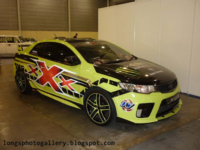 Modified Kia Forte Koup