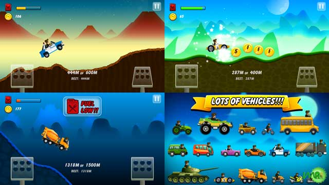 Hill-Racing--mountain-climb-android-screenshot