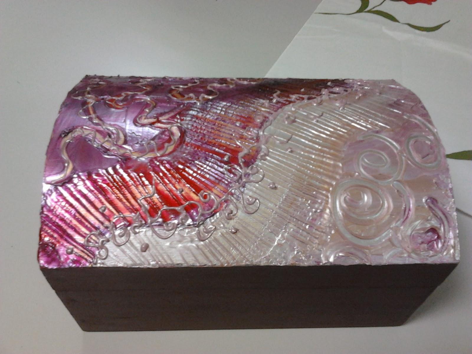 La casa de las manualidades motril cajas de madera marco - Cajas de madera manualidades ...