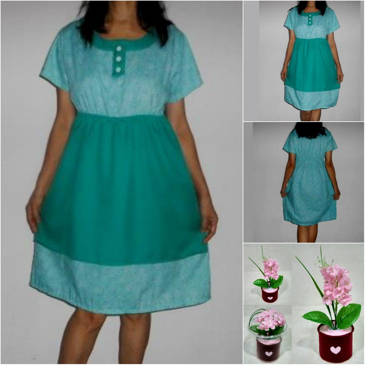 Baju Hamil Batik + katun
