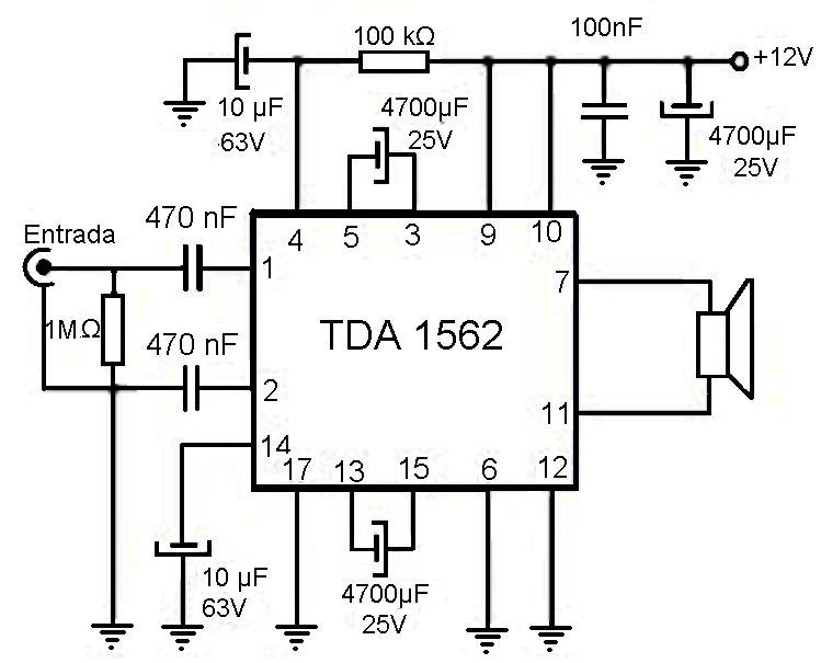 Circuito Amplificador : Amplificadores de audio amplificador para auto w