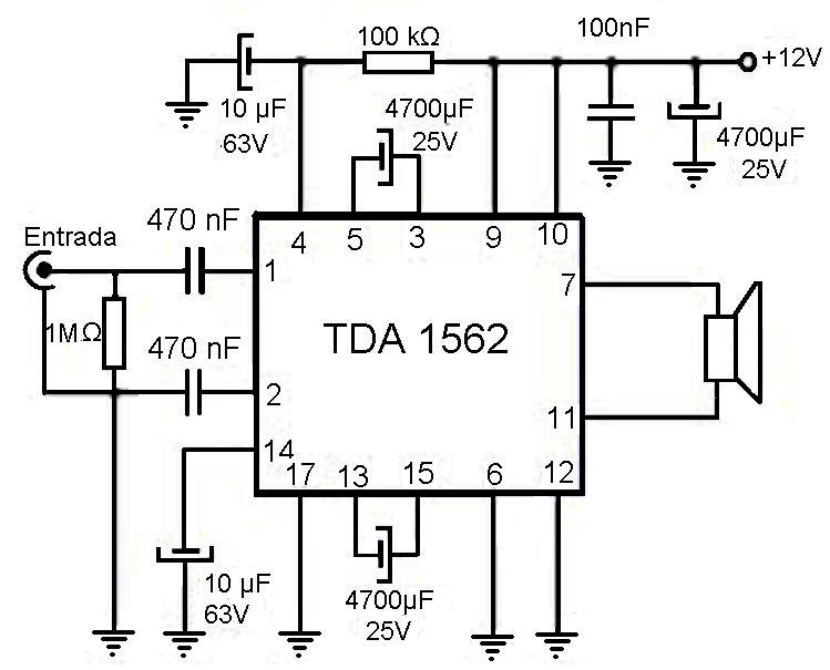 Circuito Amplificador De Audio : Amplificadores de audio amplificador para auto w