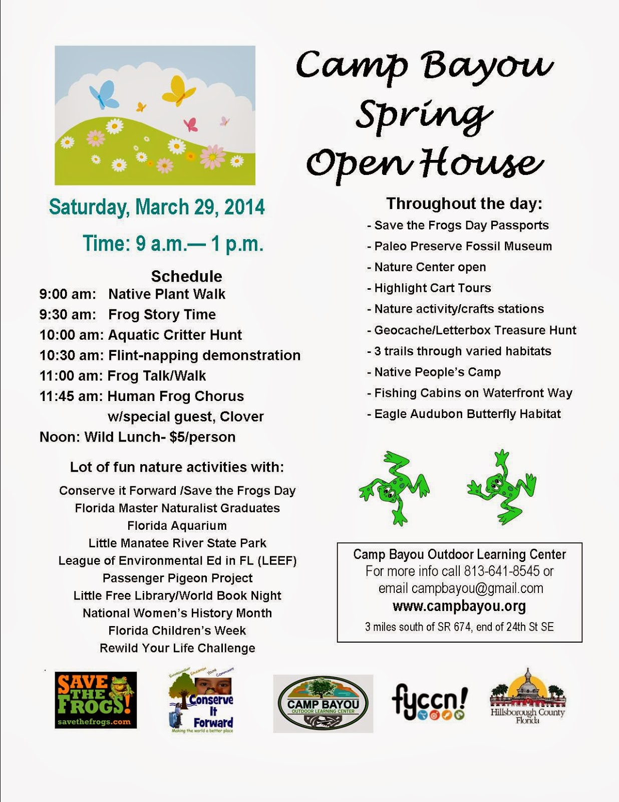http://campbayou.blogspot.com/2014/03/camp-bayou-open-house-saturday-29-2014.html