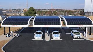 Solar Gas Station