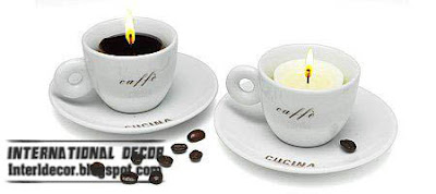 coffee cup candle holder modern candle holder make candle holder Modern candles holder, romance candles holders 2013