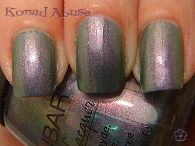 Nubar Indigo Illusion Swatch