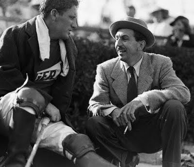 Spencer Tracy and Walt Disney. Right now the Will Rogers Polo Club is ...