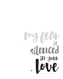 LostBumblebee ©2015 MDBN : My Fear Is Silenced in Your Love : Donate to Download Printable : Personal Use Only.