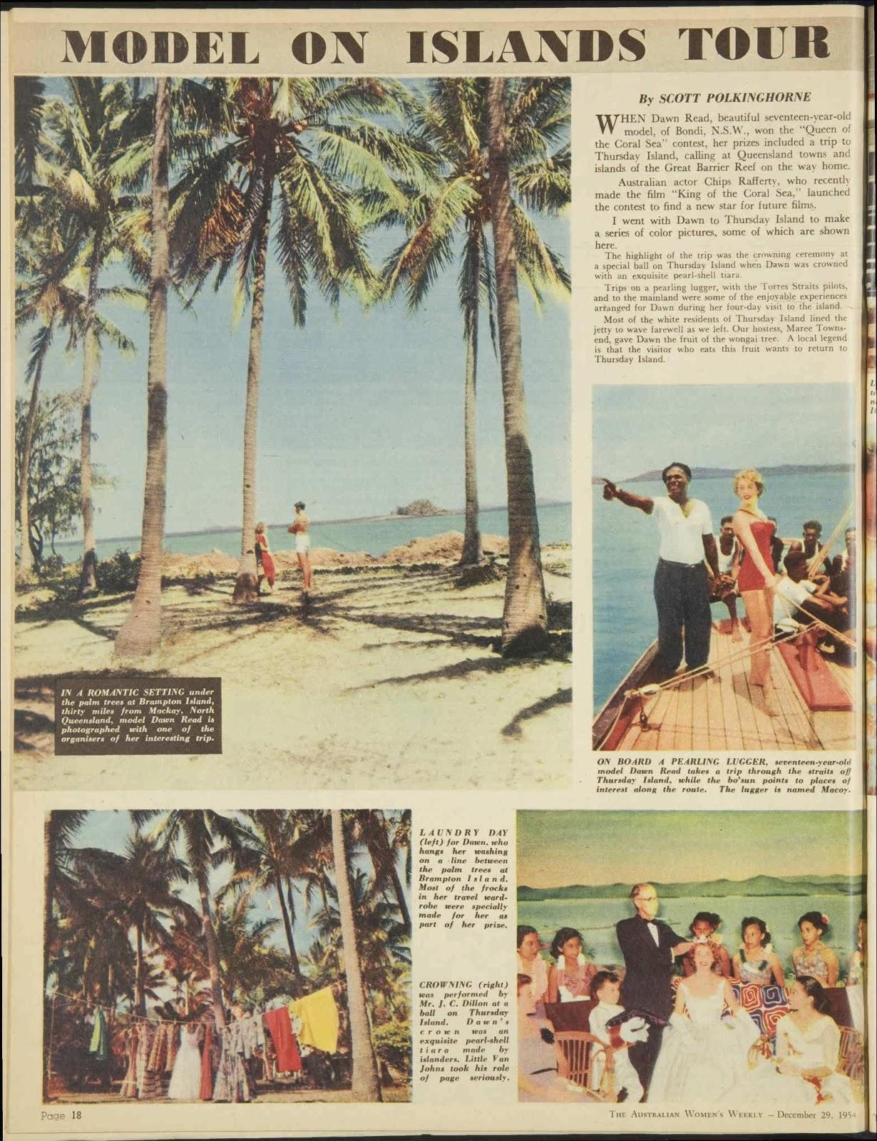 Brampton Island 1954