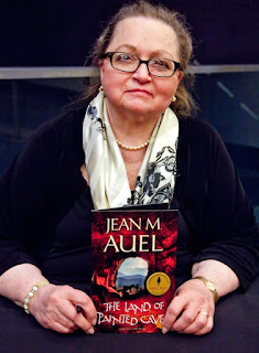 Foto de la autora Jean M. Auel