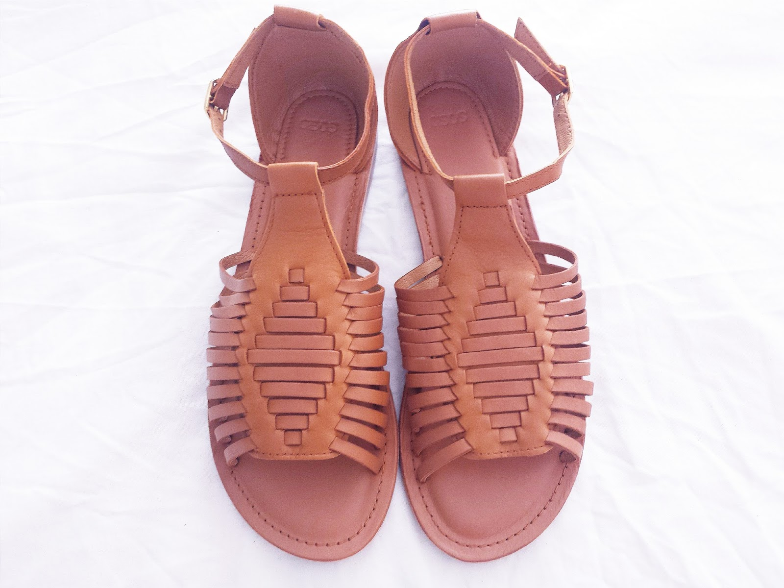 ASOS Tan Fumble Gladiator Sandals