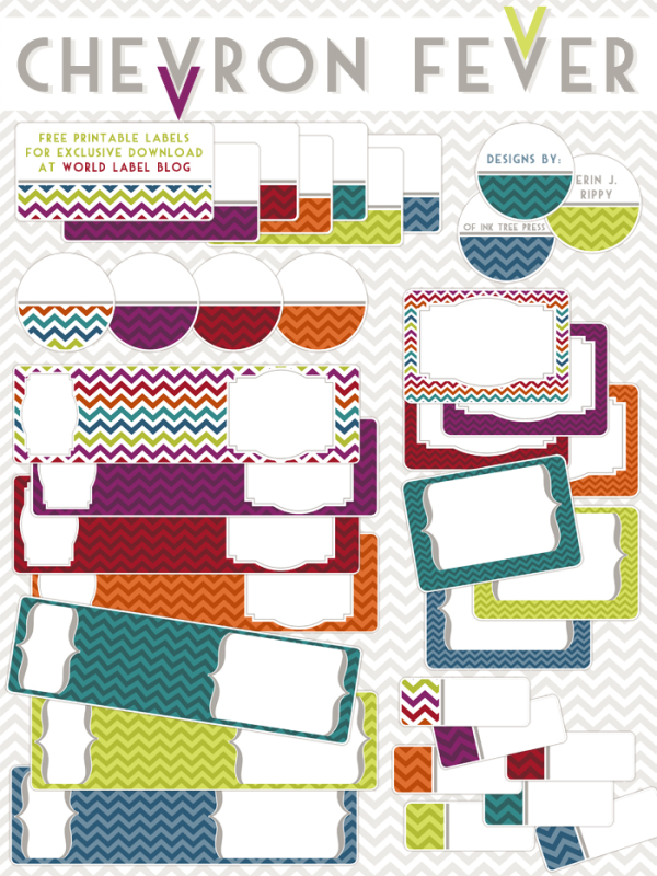 http://blog.worldlabel.com/2013/chevron-fever-free-printable-labels.html