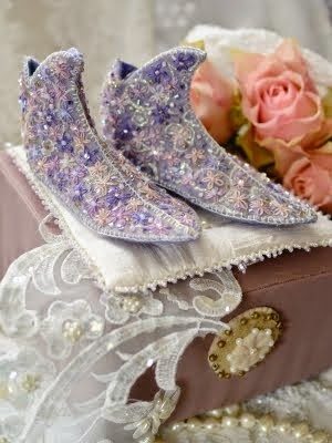 Fairy shoes van vilt
