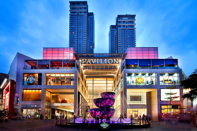 Pavilion Shopping Mall in Kuala Lumpur