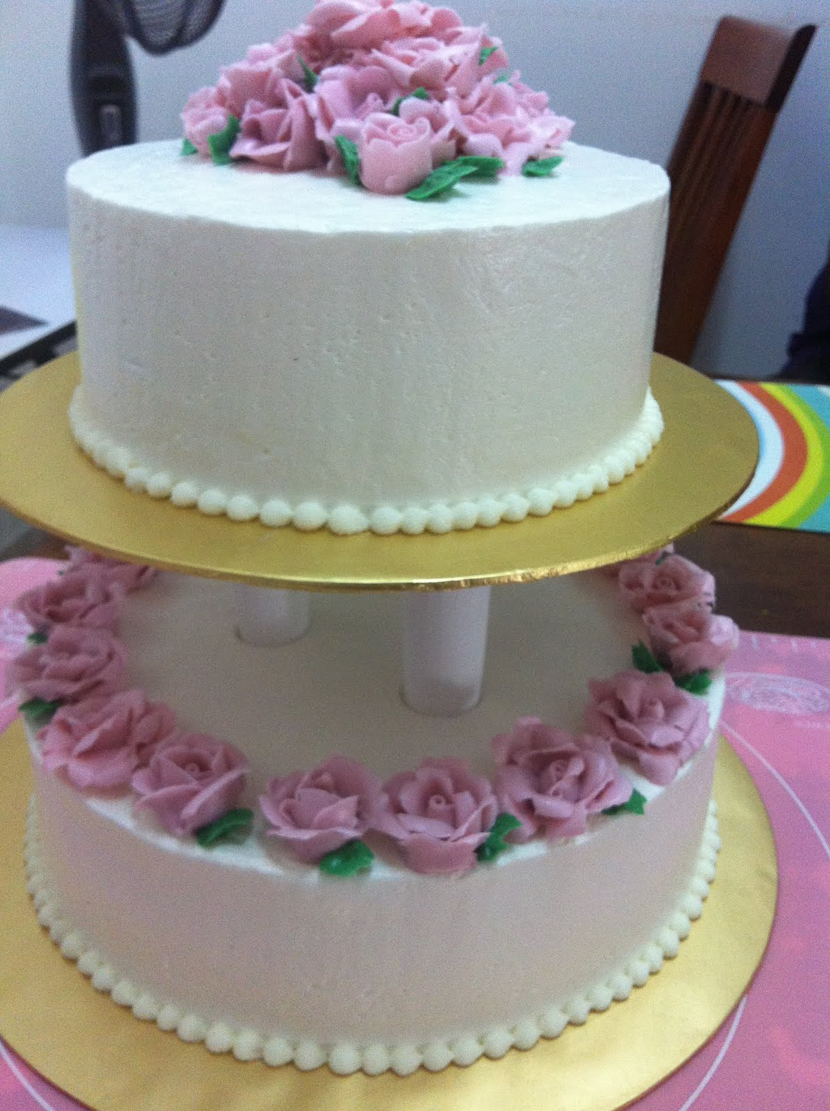 2tier Wedding Cake