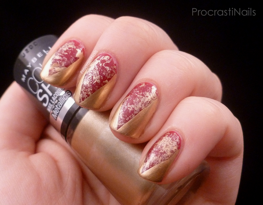 Nail art the regal queen cersei procrastinails so i have a few lovely real life friends who are bloggers though to be honest we dont often share subject matter my friend christina runs a toydoll prinsesfo Images