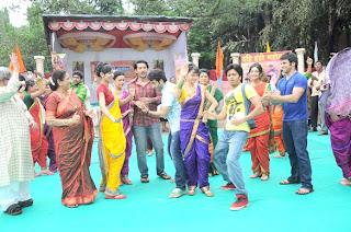 Kyaa Super Kool Hain Hum Promotion on the sets of  of 'Pavitra Rishta'