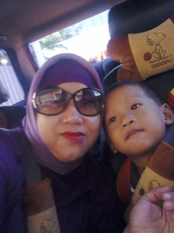 Foto Aku dan Anakku