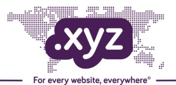 Why I Chose .XYZ