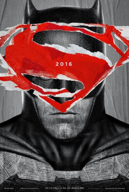 Batman v Superman: Dawn of Justice IMAX Teaser Theatrical One Sheet Movie Poster - Batman
