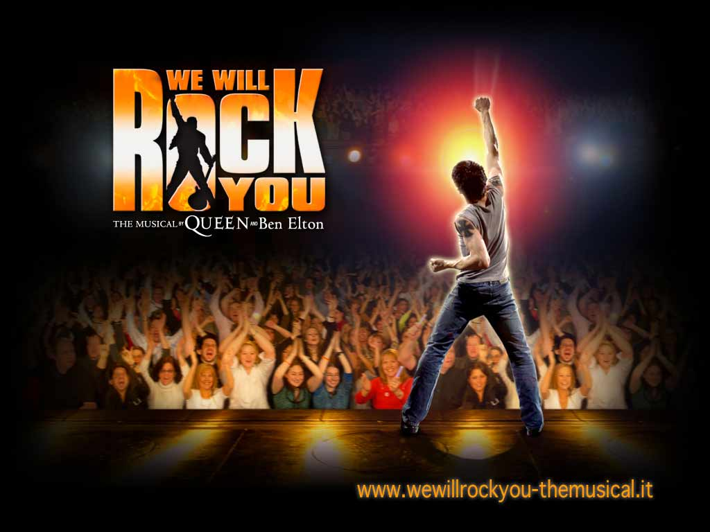 """WE WILL ROCK YOU"" regia di Tim Luscombe"