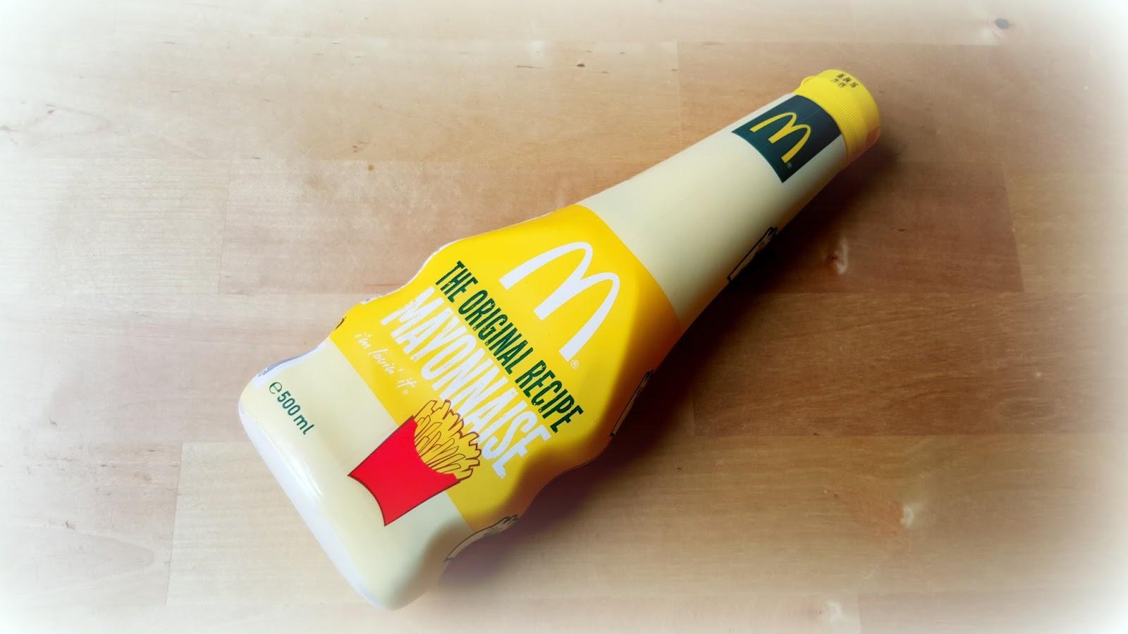 recept mcdonalds mayonaise