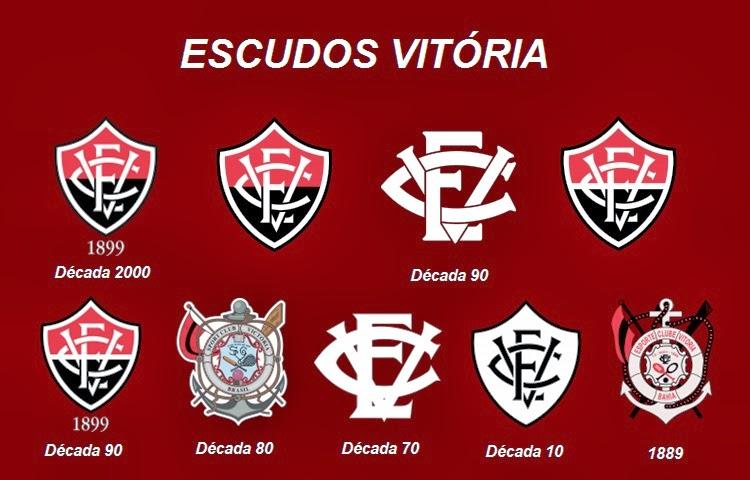 Todos os escudos do Vitória