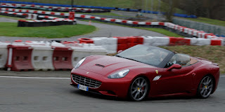Ferrari California sur circuit