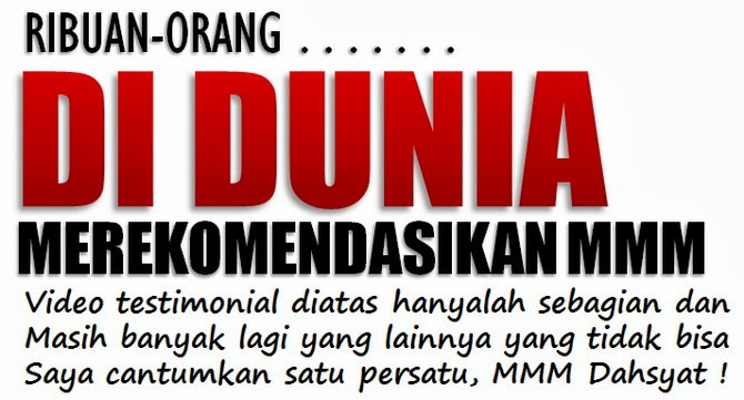 bukti mmm indonesia