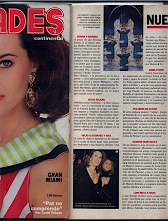 Vanidades / New York / 1994