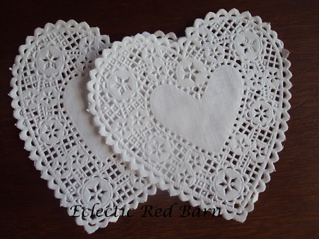 Heart-shaped Paper Doilies