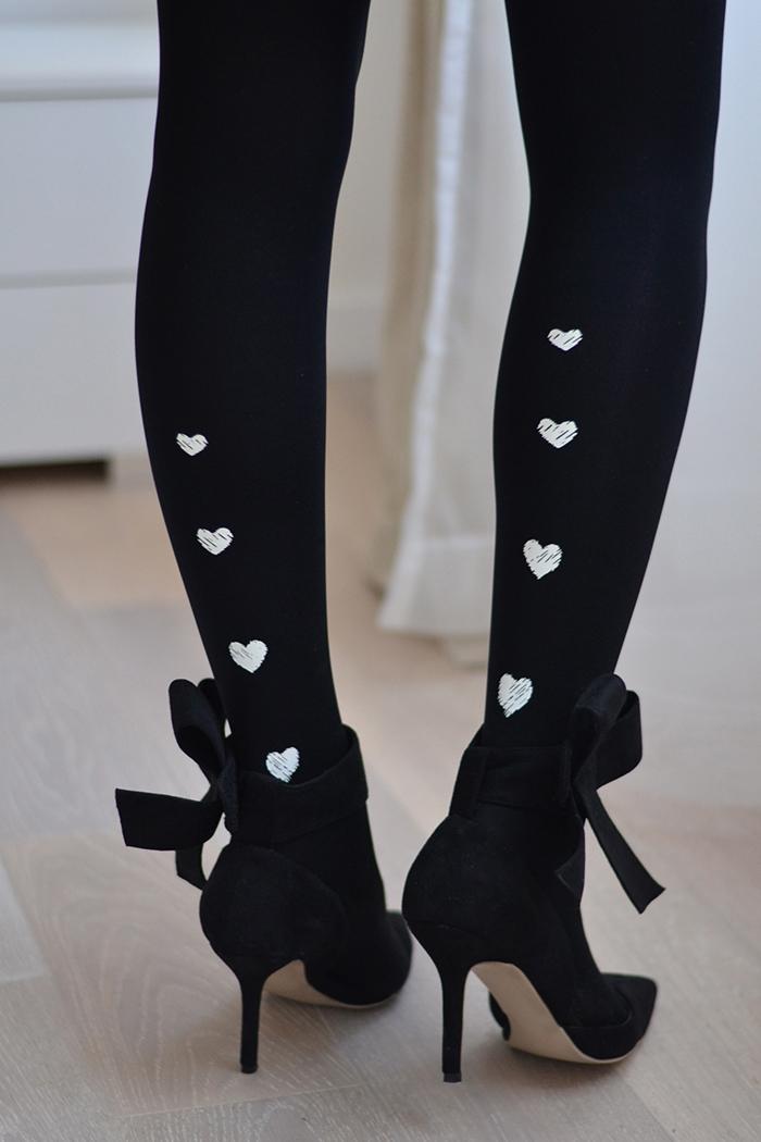 calze cuori
