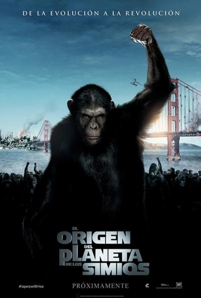 Ver El origen del planeta de los simios Online