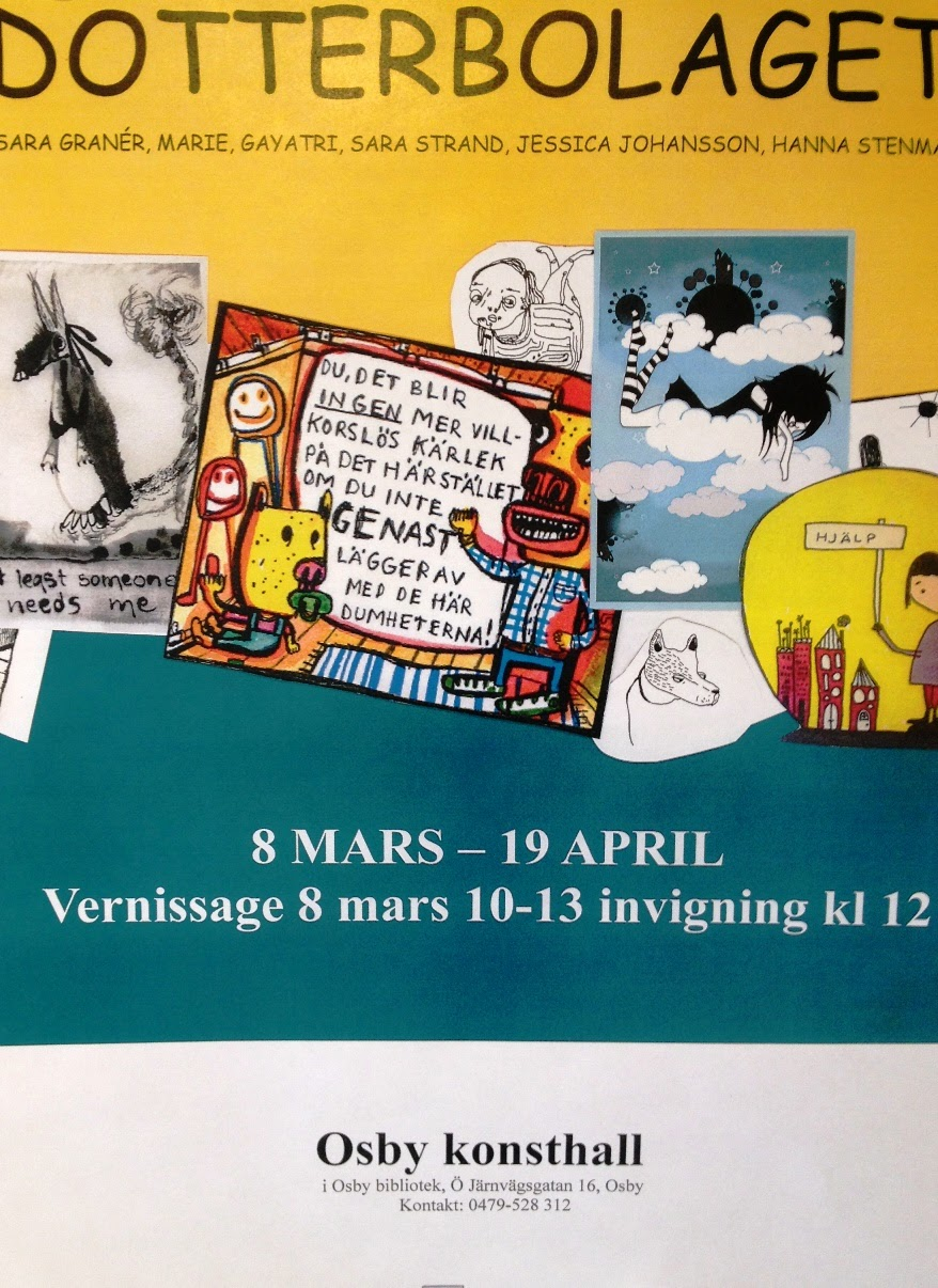 Poster - cartoon exhibition